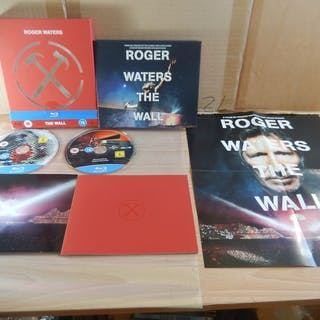 Roger Waters - The Wall Blu Ray DVD Box Set - Box - 2015
