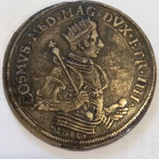 Italy - Granduchy of Tuscany - Tallero 1611 - Pisa - Cosimo de' Medici - Silver