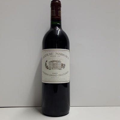 1989 Chateau Margaux - Margaux 1er Grand Cru Classé - 1 Bottiglia (0.75L)