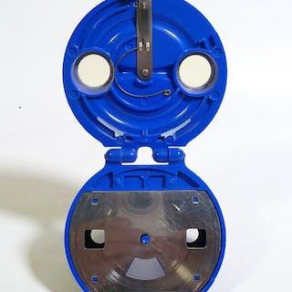 Blauwe bakelieten Model B Viewmaster viewer - zeer zeldzaam, in perfecte staat