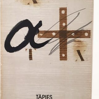 Signed; Antoni Tapies - Tapies - Galeria Maeght - 1978