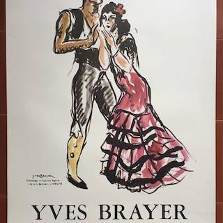 Yves Brayer - Yves Brayer Opera Danse Théatre (Teresina et Roland Petit) - 1975
