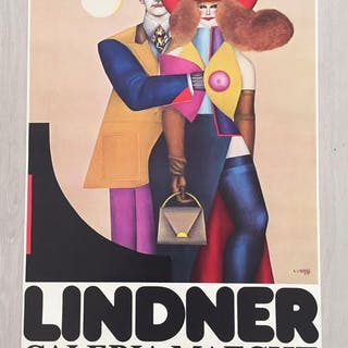 Richard Lindner - Galería Maeght - Barcelona - 1980