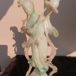 Figure - Jade - China - Late 20th century