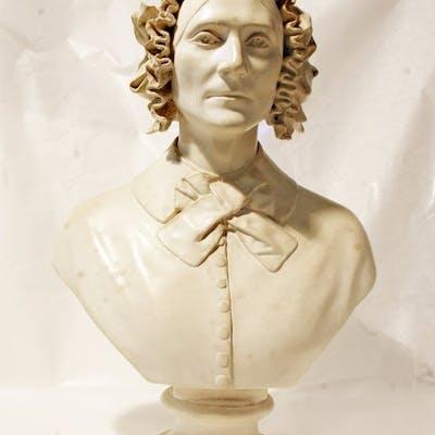 Grande busto - Ceramica rivestita 1849