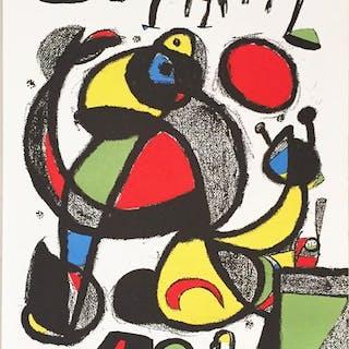 Joan Miró - Football World Cup- 1982