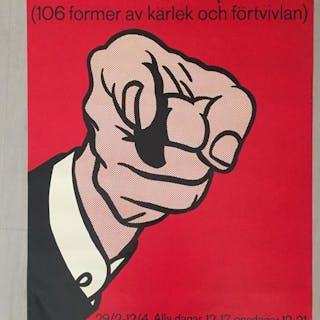 Roy Lichtenstein - Amerikansk Pop-konst - Moderna Museet - 1980s