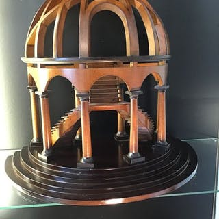 A - M - Architects model of a dome