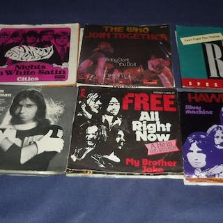 31 x ROCK Singles from the 70's - Diverse Künstler - Led...