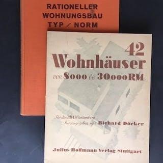 Richard Döcker - Wilhelm Lübbert - 42 Wohnhäuser von 8000...