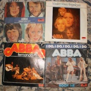 ABBA - Diverse Titel - 7″-Single - 1975/1980