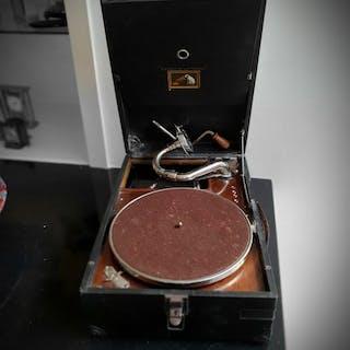 His Masters Voice - soundbox - Koffertelefon