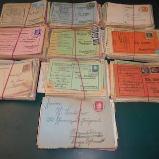 Deutsches Reich - Partie von 1.000 Postkarten