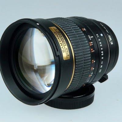 Samyang Optics 85mm/1.4 ASPHERICAL IF