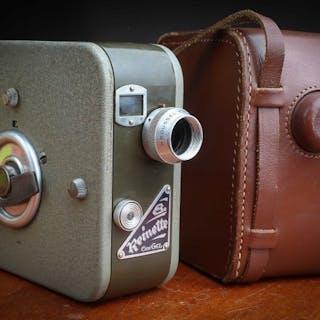 Ciné Gel Reinette 8  Caméra 8 mm en très belle état avec étui en cuir