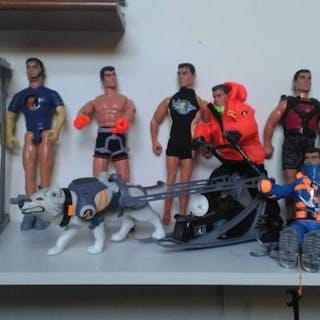 Hasbro - action man - Figur action man personaggi mezzi ed accessori - 1990-1999