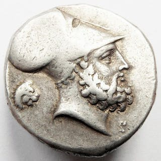 Greece (ancient) - Lucania, Metapontion. AR Stater, ca 340 - 330 v.Chr.