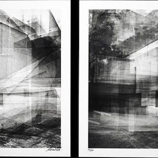 Frank Machalowski (1971-) - (2x) Meisterhaus, Bauhaus Dessau 2014