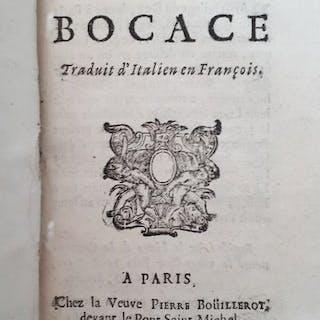 Bocace - Le Songe de Bocace - 1698