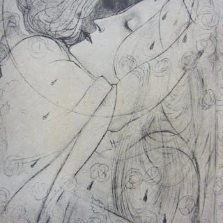 Jan Toorop (1858-1928) - Het dal der rozen