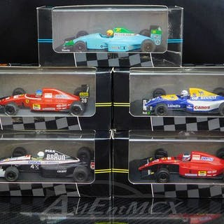 Onyx - 1:43 - Set 5 early 90's Formula 1 Collection...