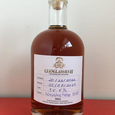 Glenglassaugh 2011 Single cask - Hand filled at the...