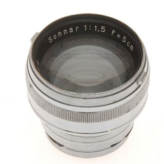 Carl Zeiss Jena nice 50mm F:1.5 50/1.5 Sonnar pre war for...