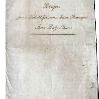 Le Candele - Manuscript; Project about the establishment...