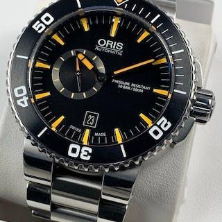 Oris - Aquis Small Second Diver Automatic SET - 7673 - Men - 2011-present