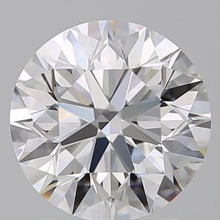 1 pcs Diamonds - 0.50 ct - Brilliant - F - VS2