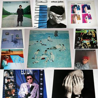"""Elton John - Diverse Titel - LP's, Maxi Single 12"""" - 1976/1990"""