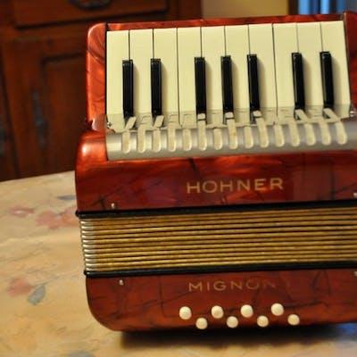 Hohner - Mignon II - Accordéon bouton chromatique - Allemagne - 1960