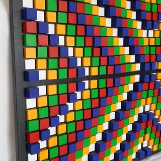 Franklin van Dam - 704 cubes