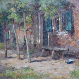 Aris Knikker (1887-1962) - Boerenhoeve