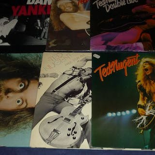 Ted Nugent - 5 records incl