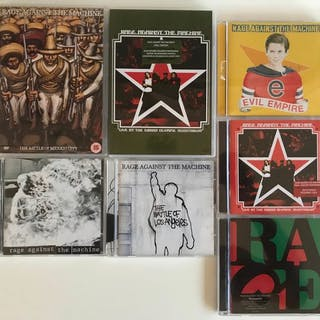 Rage Against The Machine - The Complete Album Collection - Diverse Titel - CD