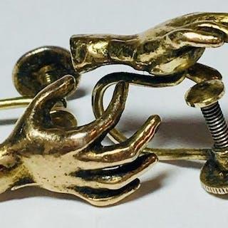 15kt gold over 925 silver1 Vergoldet - Ende des 19