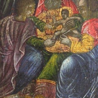 Icon, Circumcision of Christ - Wood - 18th century