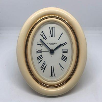 Cartier pendulette Baignoire  - Cartier - Placcato in oro - Fine XX secolo