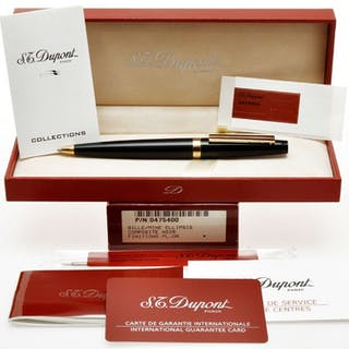 Dupont - Ellipsis nice and uncommon black ballpoint pen new in box