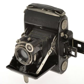 Zeiss Ikon pre war Super Ikonta 530 4.5x6 with uncoated...