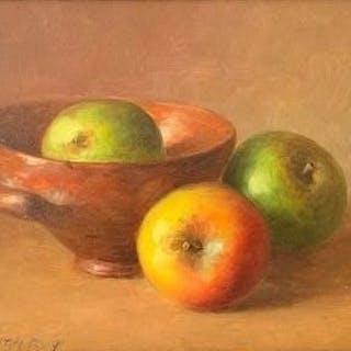 Fred Smoolenaers - Stilleven van Appels