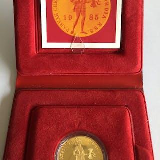 Paesi Bassi - Gouden Dukaat 1985 - Oro