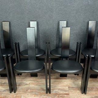 Vico Magistretti - Poggi - Chair (8) - Golem