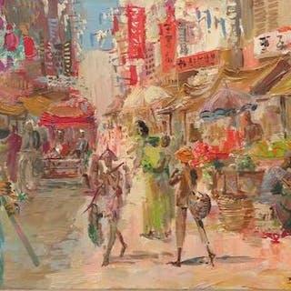 Paul Daxhelet- Le marché chinois à Singuapour