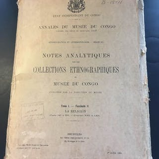 Book - Paper - NOTES ANALYTIQUES SUR LES COLLECTIONS...
