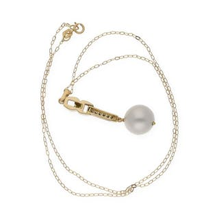 18 kt. Natural pearl
