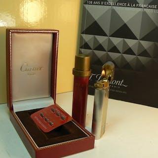 Cartier Santos - Taschenfeuerzeug - Sammlung
