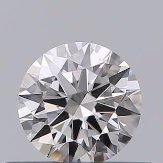 1 pcs Diamant - 0.30 ct - Brillant - D (incolore) - VVS2, ***no reserve***