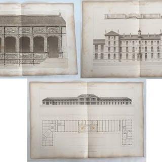 Heliogrefias Encyclopedie d´architecture - Gare de Saint...